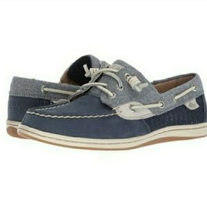 Sperry TopSider Songfish boat slip on shoes sz 8.5